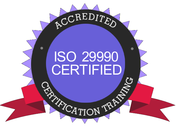 iso29990 ACCREDITED